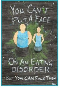 Together we will face the eating disorder and find freedom. #edrecovery #EatingDisorder #awareness