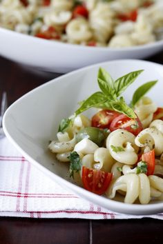 a pasta salad that does not have Italian Salad Dressing as an ingredient so Ill be trying this Cold Pasta Salad