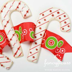 Candy Cane Cookies - decoration