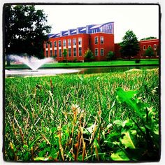 Beautiful summer day at Mount Union