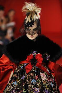 Christian Lacroix Haute Couture Fall 2008.