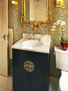Spaces Leopard Print Design, Pictures, Remodel, Decor and Ideas - page 9