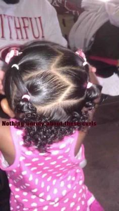 Hairstyle for toddler girl