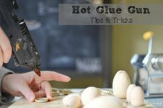 How to Use a Hot Glue Gun - lots of tips!!