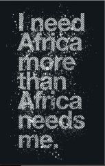 I need Africa