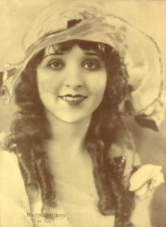 "1928 portrait of Madge Bellamy from the December ""Cinelandia"" magazine."