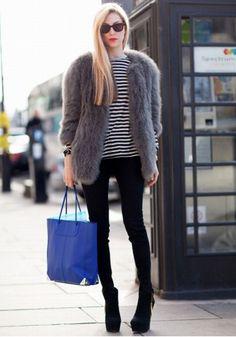 Joanna Hillman - stripes & fur