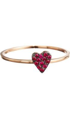 Ileana Makri Ruby Love Ring