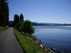 Trail of the Coeur d'Alene. Coeur d'Alene, Idaho. 72 of some of the best rails to trails miles around.