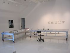 Workspace in the main studio