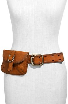 Fashionable fanny pack? From Fossil.