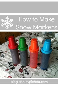 How to Make Snow Markers from @Ashley Walters Pichea