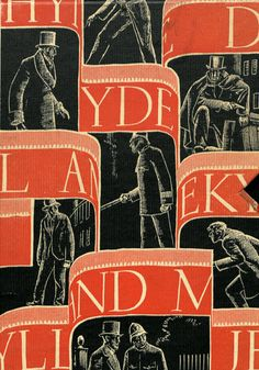 University of Maryland Special Collections: Robert Louis Stevenson with illustrations by W.A. Dwiggins. 'Strange Case of Dr. Jekyll and Mr. Hyde' New York : Random House, 1929.