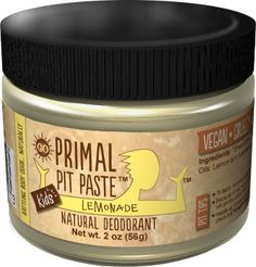 Primal Pit Paste: natural deodorant for crunchy mamas that actually works