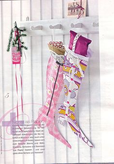 Colorful Paper Stockings