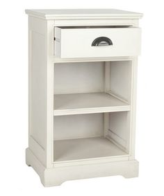 Love this White Dexter Side Table by Safavieh on #zulily! #zulilyfinds