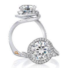 Natalie Portman's Round Diamond Engagement Ring : Engagement Rings Gallery