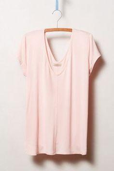 comfy pink tee