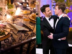 All the Details from Nate Berkus  Jeremiah Brent's Comfort Food Wedding Feast
