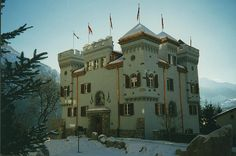Castle for your Kids to Play!  Disentis, Switzerland