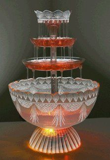 I ordered this at Amazon.com: Nostalgia Electrics LPF210 Lighted Party Fountain: Home & Kitchen