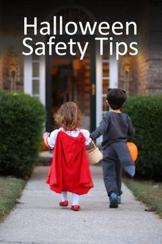 Important Halloween safety tips for children and drivers. A must-read with trick-or-treat just around the corner.