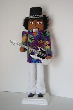 Really Cool Nutcrackers: Jimi Hendrix Nutcracker