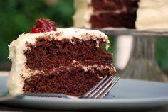Gaga's Chocolate Mayonnaise Cake