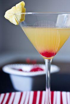 Pineapple Upside-down Cake Martini recipe