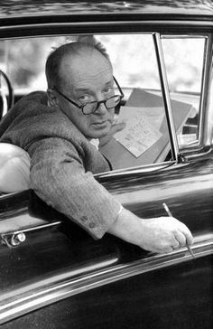 """Lolita is famous, not I. I am an obscure, doubly obscure, novelist with an unpronounceable name."" -Vladimir Nabokov, Paris Review, Oct. 1967"