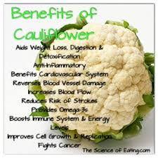 benefits of cauliflo