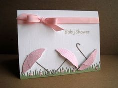 girl baby showers, wedding showers, future babies, umbrella, may flowers, babi shower, april showers, bridal showers, baby shower cards