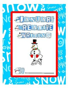 FREE January Creative Writing prompts