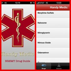 #emt #paramedic great way to learn drugs for anyone going through the program. Emt