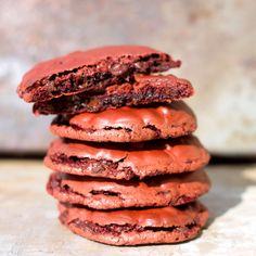 Flourless Red Velvet Cookies - Erren's Kitchen