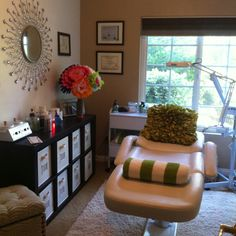 My at home Esthetician Room