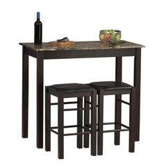 Linon Tavern Collection 3-Piece Table Set $127.48