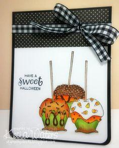 Sweet Candy Apple Halloween