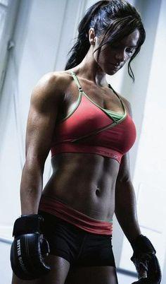 She looks awesome..