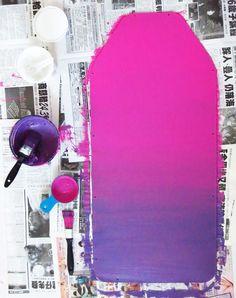 DIY Fix: Ombré Chalkboard Painting Tutorial #diy #crafts