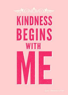 Kindness Begins with Me 5x7 Print by SeekGoodWorks on Etsy