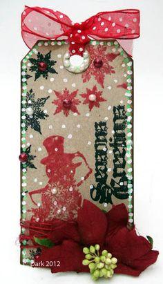 Sketching Stamper: Chris Dark http://sketchingstamper.blogspot.co.uk/2012/12/the-funkie-junkie-12-tags-of-christmas_16.html