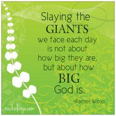 Slaying Giants!