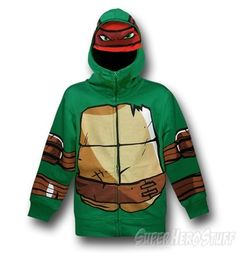 TMNT Kids Raphael Costume Hoodie