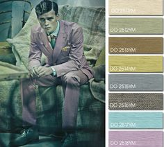 Spring Summer 2014, contemporary men's color trend report, Handsome Devil color board