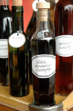 Homemade oils & vinegars