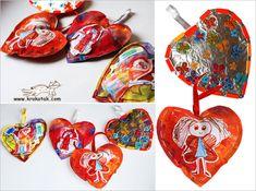 Обемно сърце за Св. Валентин