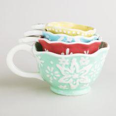Snowflake Measuring Cups ...so cute!
