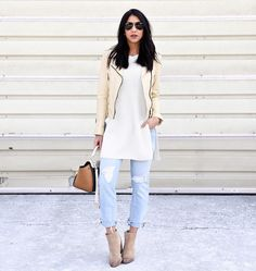 How to Wear Boyfriend Jeans | POPSUGAR Fashion