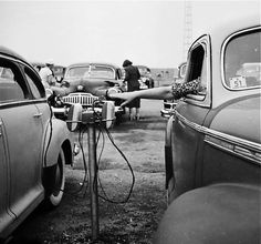 Drive-In, 1950s